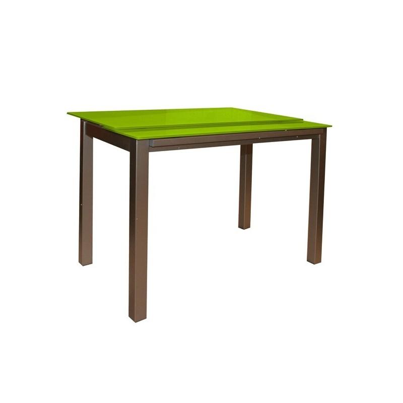 Mesa de cocina nere extensible a lo ancho - Mesas de cocina extensibles merkamueble ...