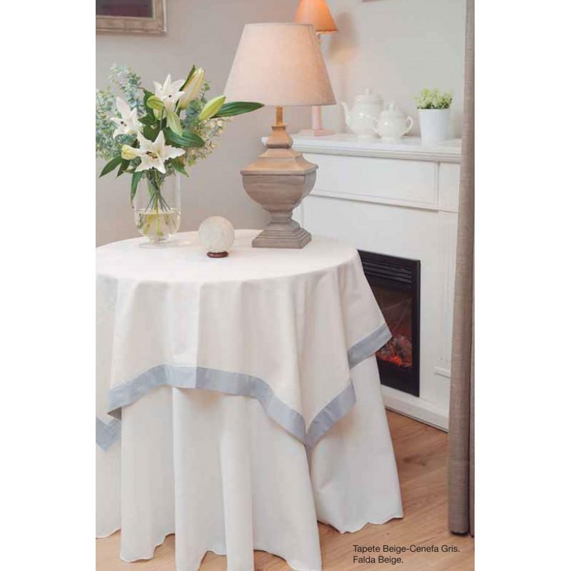 c5da70296 Falda mesa camilla redonda Versatil - A por mesas