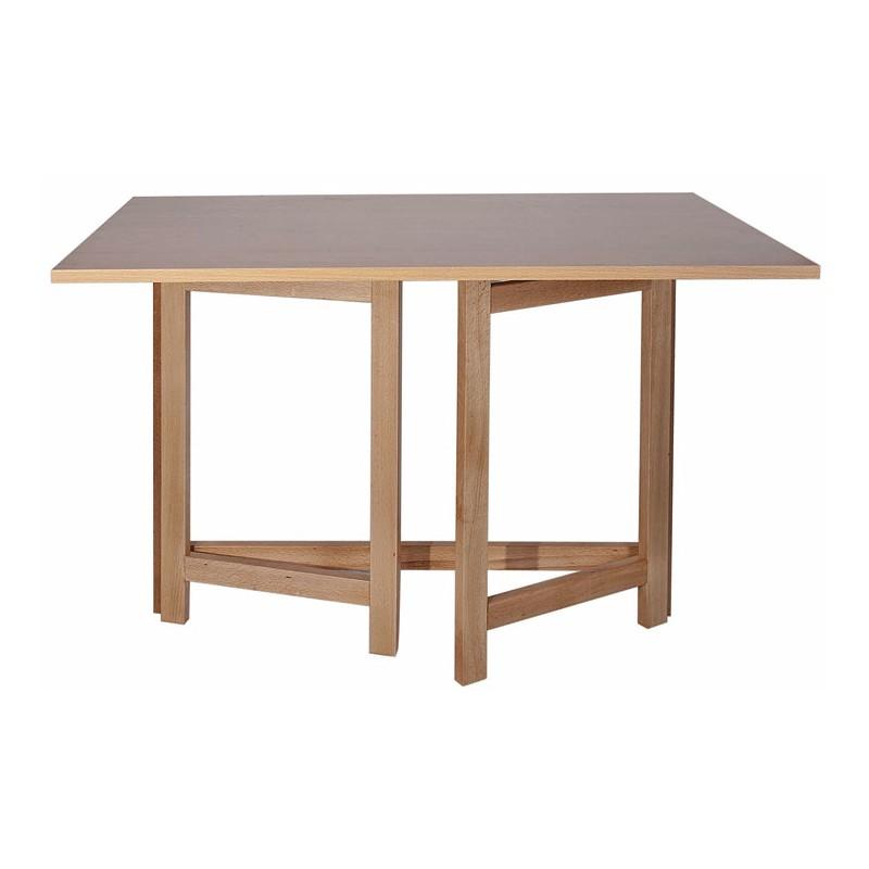 mesa plegable para escritorio de madera