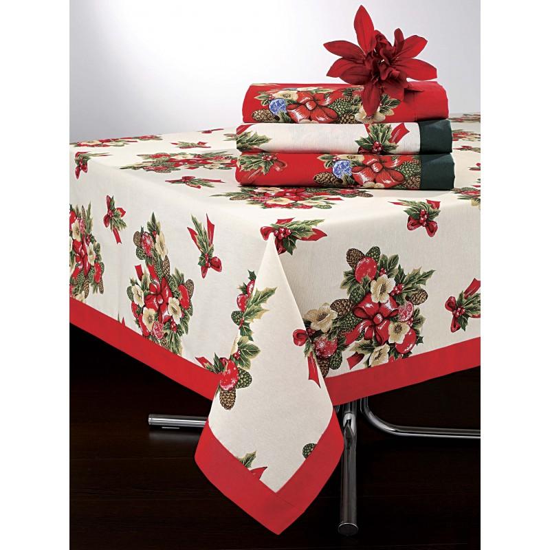 mantel mesa camilla guarda con motivos navide os