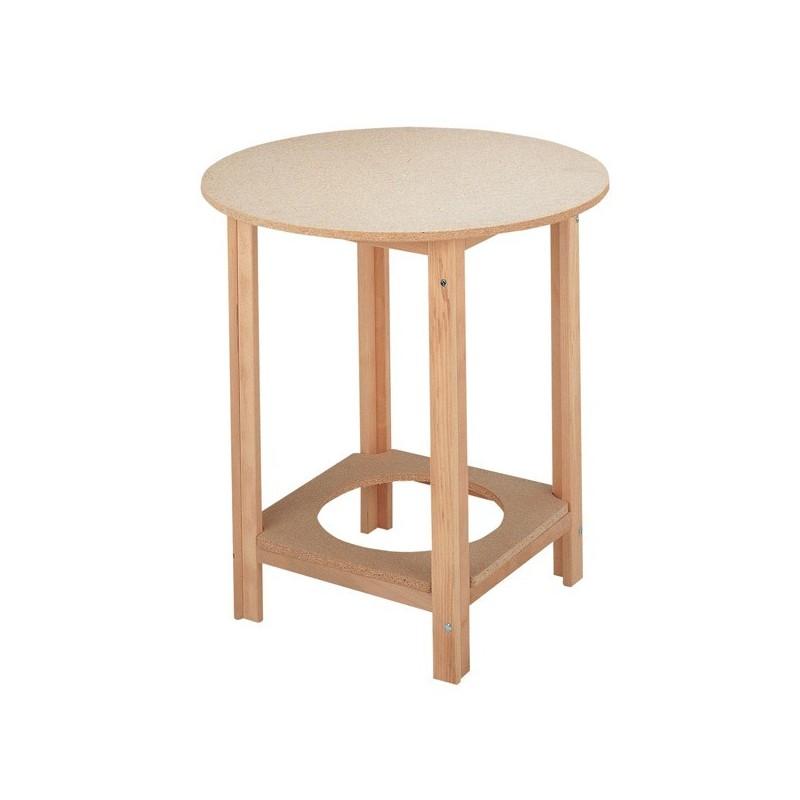 Mesa camilla en madera de haya para decoraci n del hogar - La mesa camilla ...